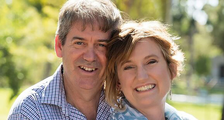 Delene and John's journey to cure ovarian cancer