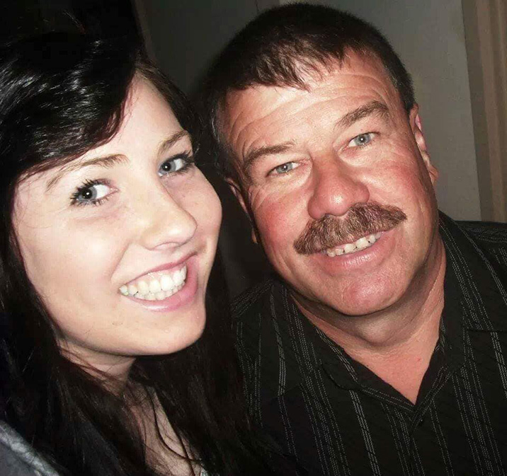 Stacey and her father, Mark